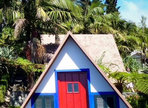 Maison au Jardin tropical, Funchal, Madere