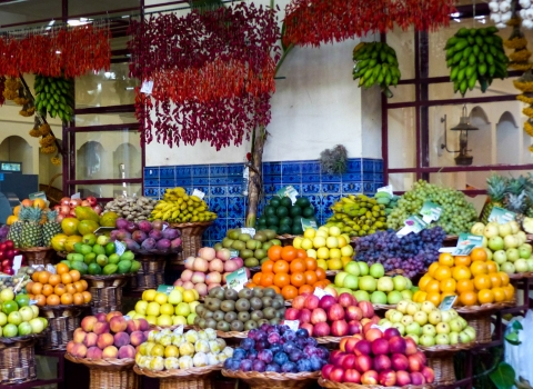 Marché, Funchal, Madere