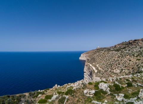 Falaises de Dingli, Malte